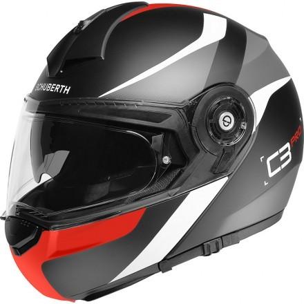 Schuberth casco modulare C3 Pro - Sestante Red