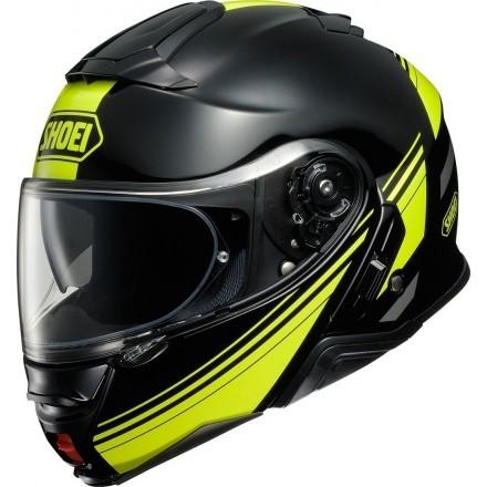 Shoei casco modulare Neotec 2 - Separator TC3 Nero/Giallo