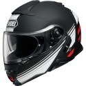 Shoei casco modulare Neotec 2  - Separator TC5 Nero/Bianco/Rosso opaco