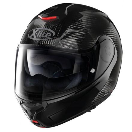 X-Lite flip-up helmet X-1005 Ultra Carbon Dyad N-Com - Black