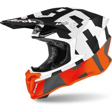 Airoh casco motocross Twist 2.0 Frame - Arancione opaco