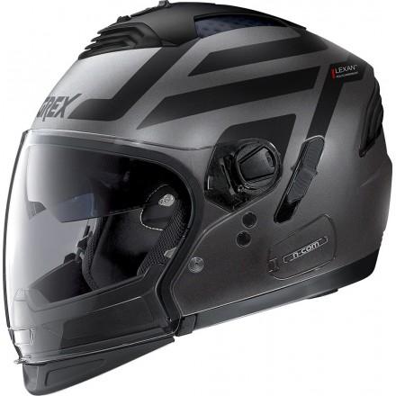 Grex casco componibile G4.2 Pro Crossroad N-Com - 35 Flat Lava Grey