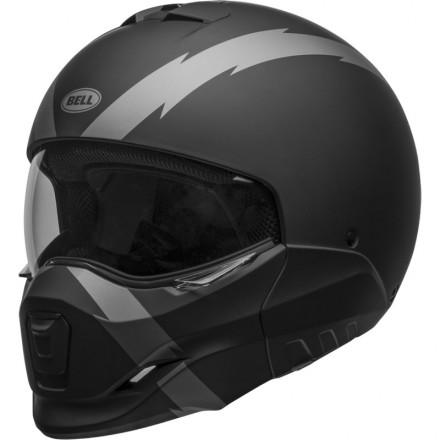 Bell casco componibile Broozer Arc Nero Opaco/Grigio