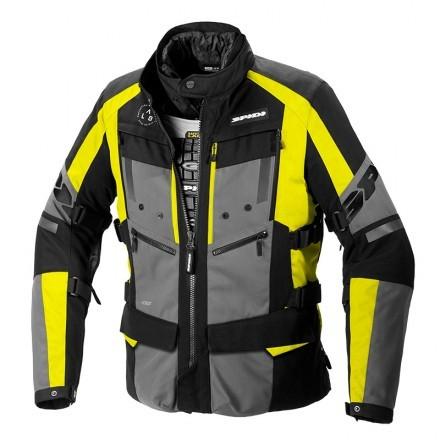 Spidi 4 Season Evo H2Out man jacket - 486 Yellow Fluo