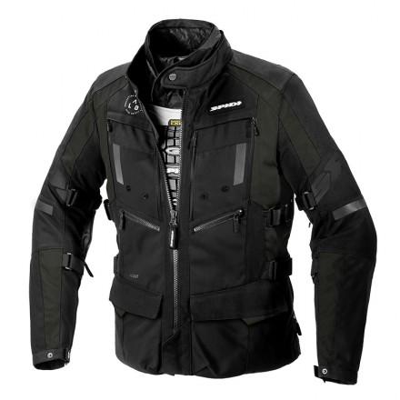 Spidi 4 Season Evo H2Out man jacket - 449 Dark Green/Black