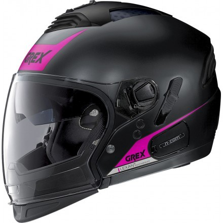 Grex casco componibile G4.2 Pro Vivid N-Com - 34 Flat Black