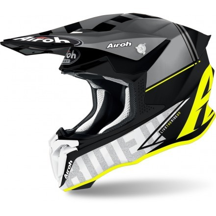 Airoh casco motocross Twist 2.0 Tech - Giallo Opaco