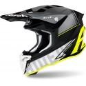 Airoh casco motocross Twist 2.0 Tech - Giallo Opaco