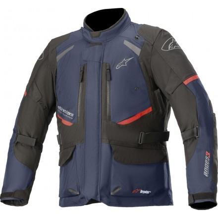 Alpinestars giubbotto uomo Andes V3 Drystar® - 7109 Blu Scuro Nero
