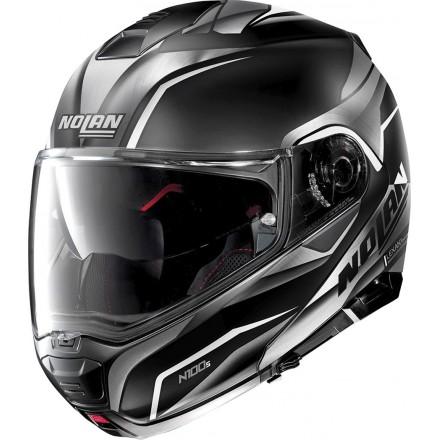 Nolan casco modulare N100-5 Balteus N-com - 41 Nero opaco