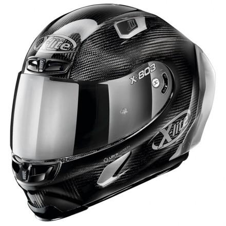 X-Lite casco integrale X-803 RS Ultra Carbon - Silver Edition 44 Carbon
