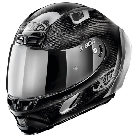 X-Lite X-803 RS Ultra Carbon - HSilver Edition full face helmet 44 Carbon