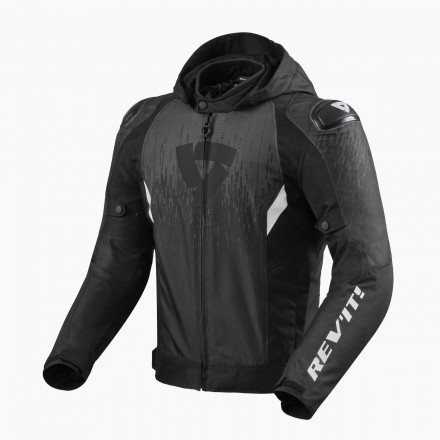 Rev'it Quantum 2 H2O man jacket - Black Antracite