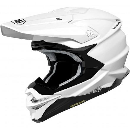 Shoei casco motocross VFX-WR - Bianco lucido