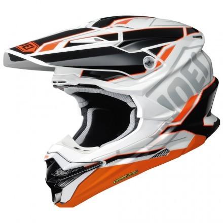 Shoei VFX-WR Allegiant cross helmet - Black Orange TC-8