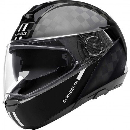 Schuberth casco modulare C4 Pro Carbon - Fusion White
