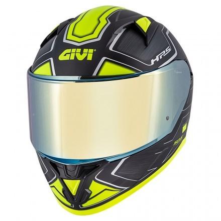 Givi casco integrale 50.6 Sport Deep Limited Edition - Titanio Opaco / Giallo