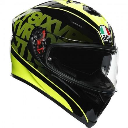 Agv casco integrale K-5 S MPLK Top Fast 46 - Black/Yellow
