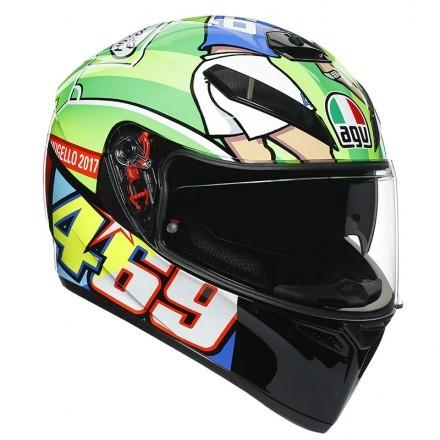 Agv K-3 Sv Pinlock Top Rossi Mugello 2017 full face helmet