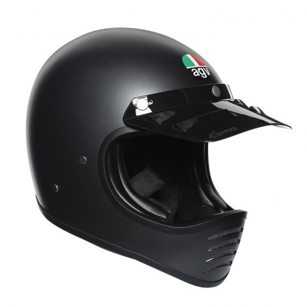 Agv X101 Mono Ece - Matt Black full face helmet