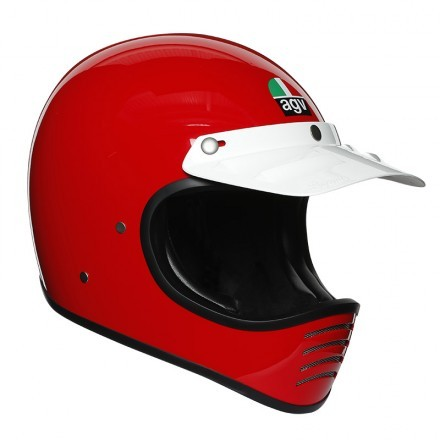 Agv X101 Mono Ece - Metal Red full face helmet