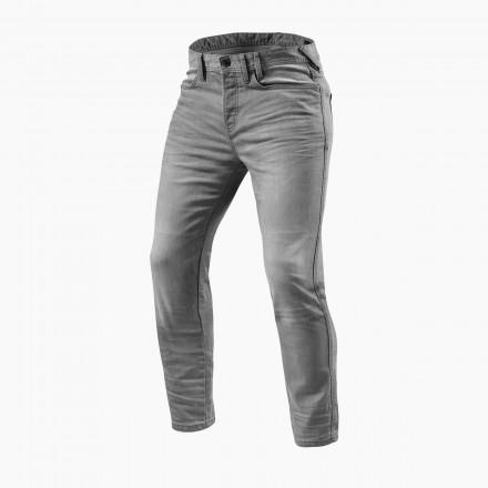 Rev'it jeans uomo Piston - Grigio chiaro slavato
