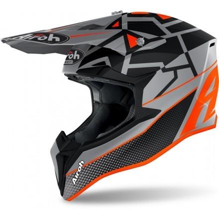 Airoh Wraap Mood cross helmet - Orange Matt