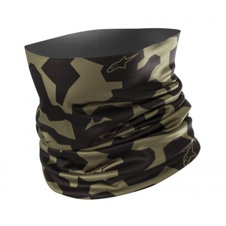 Alpinestars Camo Neck Tube - Military Green Black