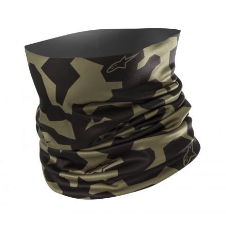 Alpinestars scaldacollo Camo Neck Tube - Military Green Black