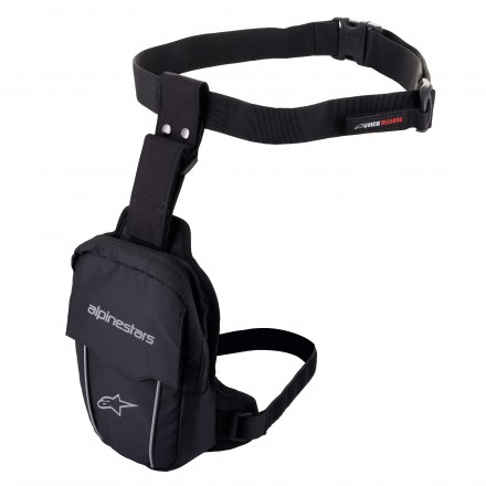 Alpinestars borsello gamba Access Thigh Bag - 1100 Black Black