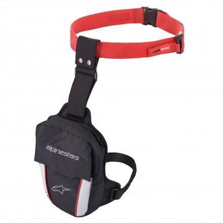 Alpinestars borsello gamba Access Thigh Bag - Nero Rosso Bianco