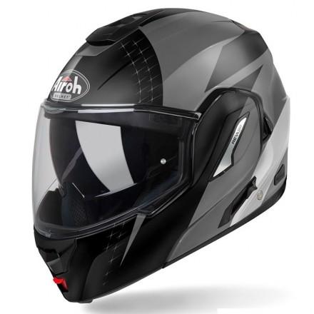 Airoh Rev 19 Ikon flip up helmet - Yellow matt