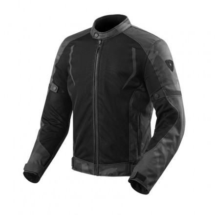 Rev'it jacket Torque - Black/Grey