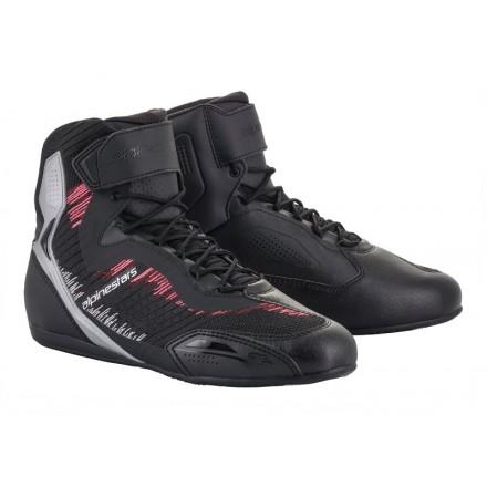 Alpinestars Stella Faster-3 Rideknit shoe - 1939 Black/Silver/Diva/Pink