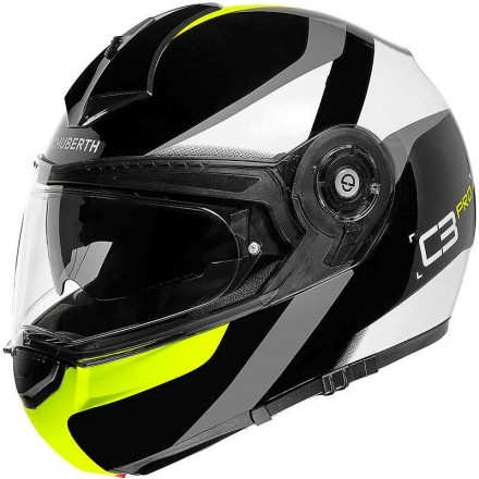 Schuberth casco modulare C3 Pro - Sestante Yellow