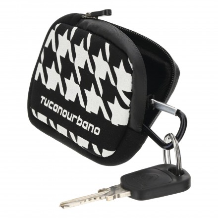 Tucano Urbano portachiavi Key Bag - Pied De Coq