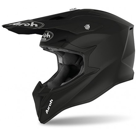 Airoh casco motocross Wraap - Black Matt