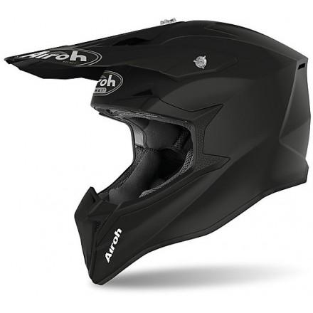 Airoh Wraap Mood cross helmet - Black Matt
