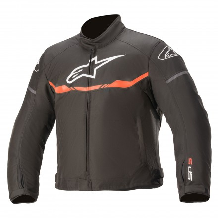 Alpinestars Youth T-SP S Waterproof kids jacket - 1030 Black Red Fluo