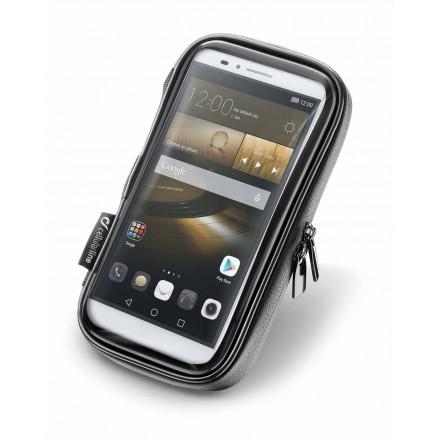 """Cellularline Interphone supporto per smartphone fino a 6,5"""" per manubrio"""