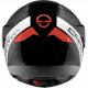 Schuberth casco modulare C4 Pro Carbon - Avio Red