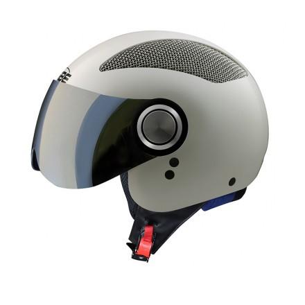 Osbe Summer jet helmet - White Pearl