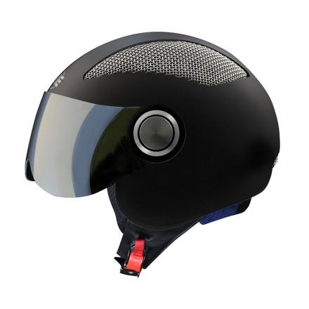 Osbe Summer jet helmet - Black Matt