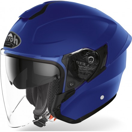 Airoh H.20 Color jet helmet - Blue Matt