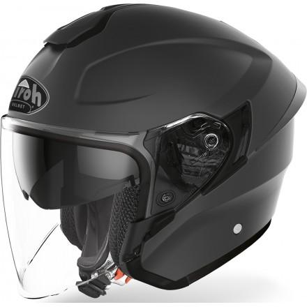 Airoh H.20 Color jet helmet - Dark Grey Matt