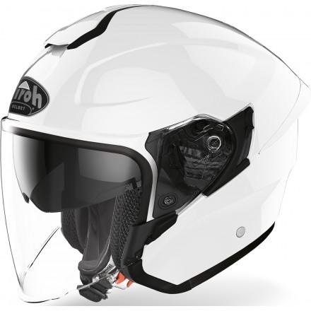 Airoh H.20 Color jet helmet - White Gloss