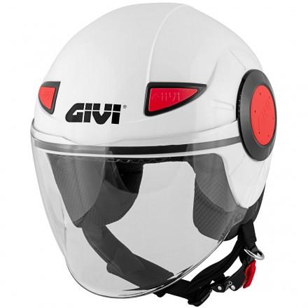 Givi jet helmet Junior 5 - White gloss