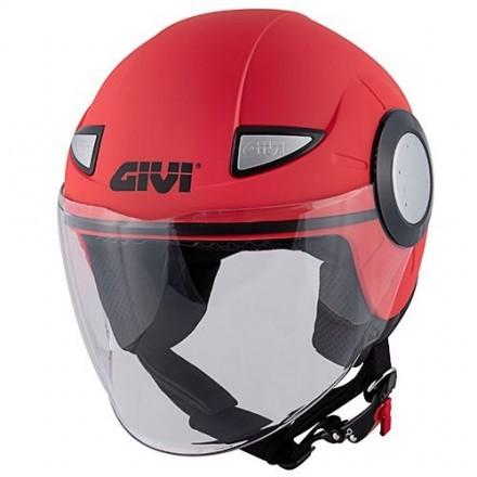 Givi casco jet bimbi Junior 5 - Rosso lucido