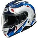 Shoei casco modulare Neotec 2  - Respect TC-10 Blu/Rosso