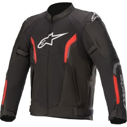 Alpinestars Ast V2 Air man jacket - 1030 Black/Red Fluo